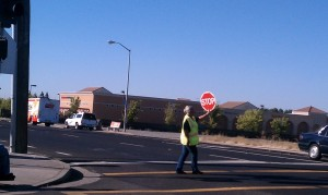 Northgate crossing guard.