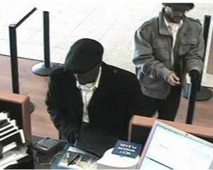 Accomplice at Chase in Natomas 1/29/2013. FBI photo.