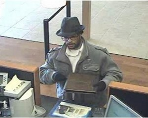 Suspect at Chase in Natomas 1/29/2013. Photo Courtesy FBI
