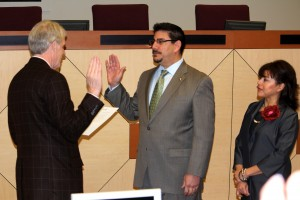 Serna Sworn In As New State Air Board Member