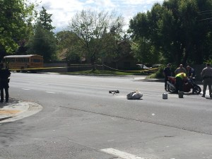 Motorcycle Driver Dies In Natomas Crash With School Bus