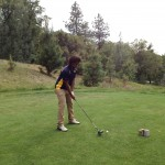 Inderkum junior golfer CJ Spencer