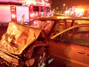 Seven Injured as Result of Four-Car Crash in Natomas