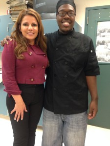 Chef LaLa Shares Cooking & Career Tips in Natomas