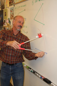 Math teacher Gregory Humphries. / Courtesy Photo