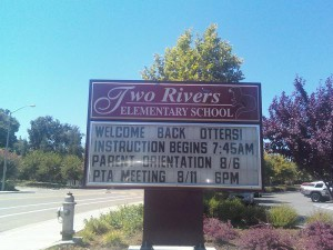 Two Rivers Elementary Named Distinguished School