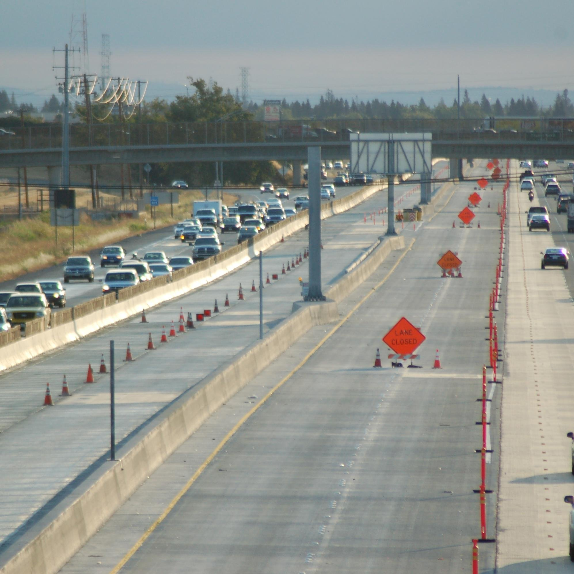 Natomas, CA - Norwood On-Ramp to Eastbound I-80 Closed | The