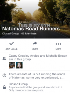 Natomas Runners Connect via Facebook