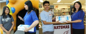 Two Seniors Awarded Chromebooks for College