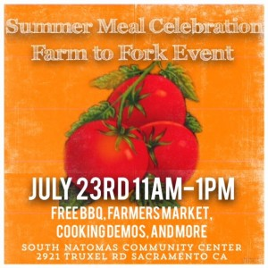 Public Invited to Free BBQ Today in Natomas