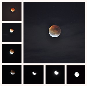 Seen in Natomas: Supermoon Lunar Eclipse