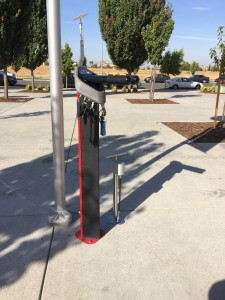 Seen in Natomas: New Bike Fix-It Station