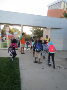 Seen in Natomas: Walk-to-School Day Events