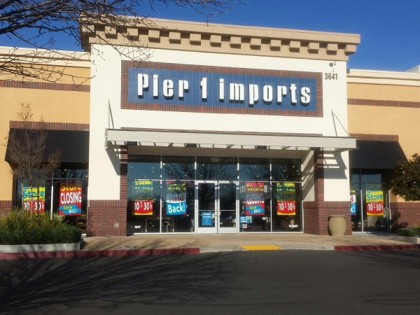 The Pier 1 Imports store in Natomas is slated for closure. / Photo: N. Kong-Vasquez