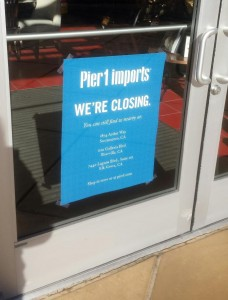 Pier 1 Imports Store in Natomas Set to Close