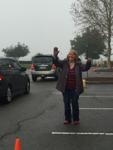 Seen in Natomas: Principal Busts a Move
