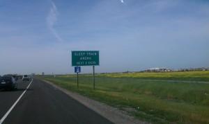 Seen In Natomas: Finally, A Sign