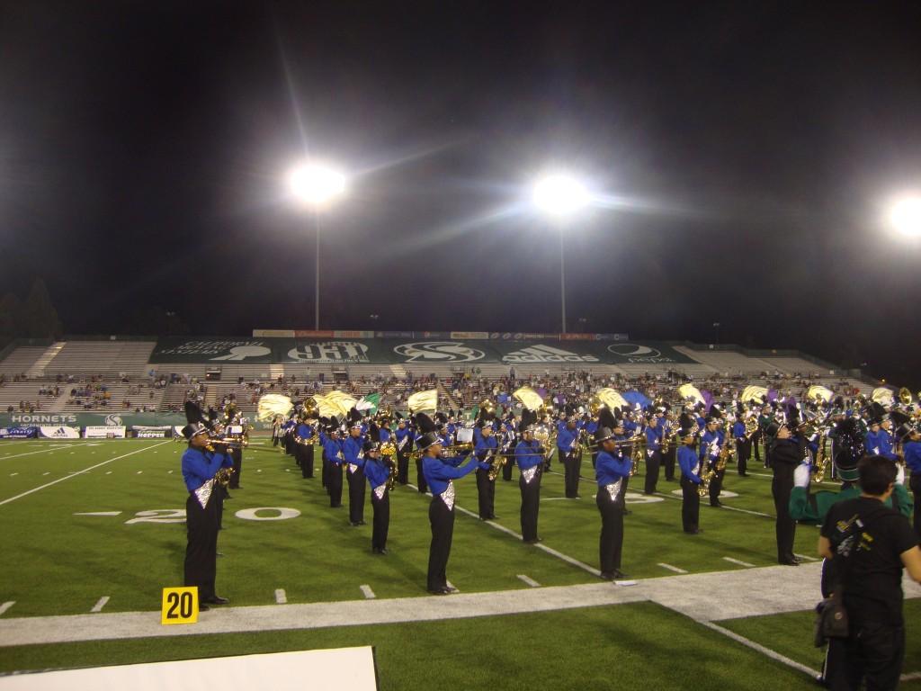Inderkum High School marching band. / Courtesy Photo