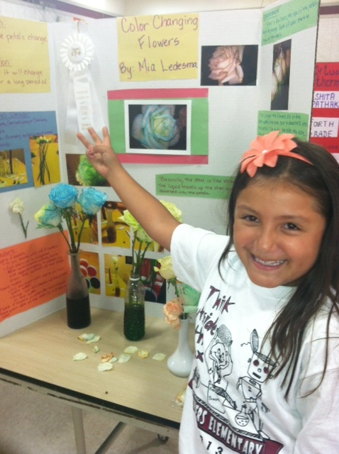 Two rivers elementary- open house and science fair.  Mia Ledesma  Mia got 3rd place in the third grade!!