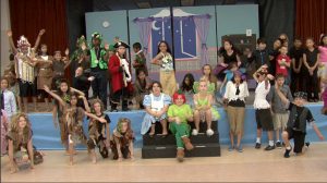 On Stage In Natomas: Peter Pan At Witter Ranch Elementary