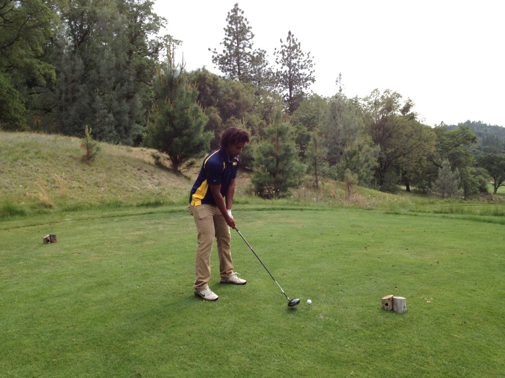 Inderkum junior golfer CJ Spencer