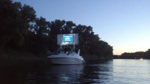 Seen in Natomas: Float-in Movie Night