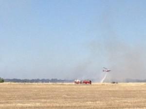 Crews Fight 2-alarm Grass Fire in North Natomas