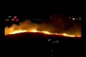 Fire Crews Douse Natomas Regional Park Fire