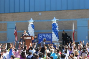 NUSD Celebrates 70-point API Gain at Jefferson