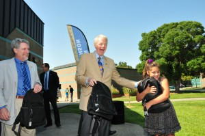 Natomas Youth Receive 500 Free Backpacks