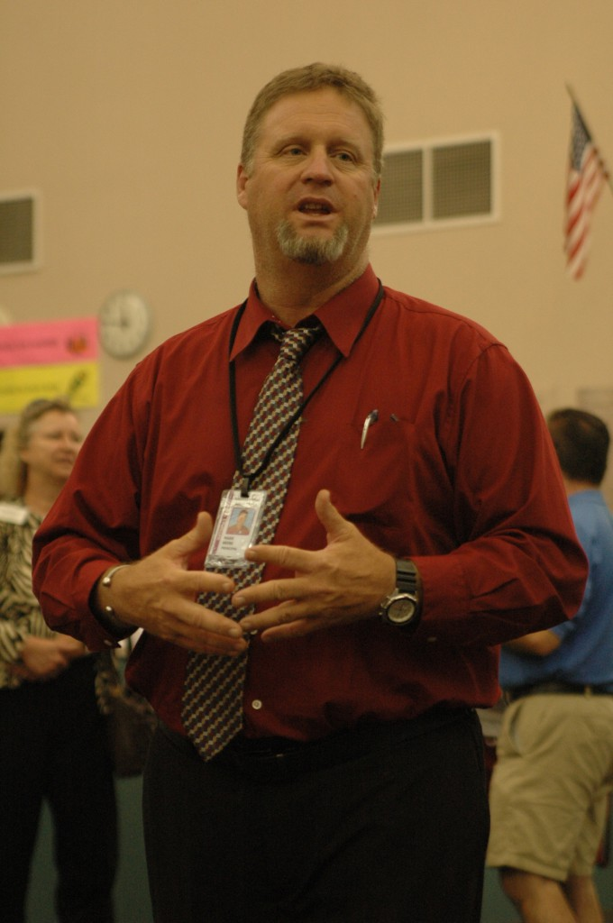 New Natomas High School principal Mark Beebe. / Photo: Jeremiah McWright