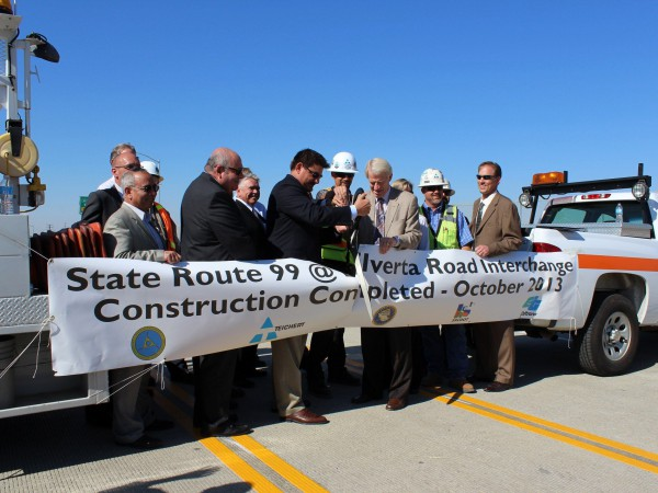 Sacramento County Board of Supervisors Member Phil Serna (District 1) Sutter County Board of Supervisors Member James Gallagher Jeff Pulverman, Caltrans District 3 Deputy Director Mike Penrose, Director - Department of Transportation