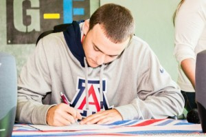 Kudos: Cameron Avila of Gardenland Signs with Wildcats
