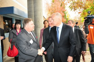 Photo Gallery: Gov. Brown Visits Natomas School