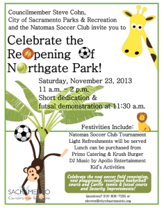 Renovated Northgate Park Reopens in Natomas