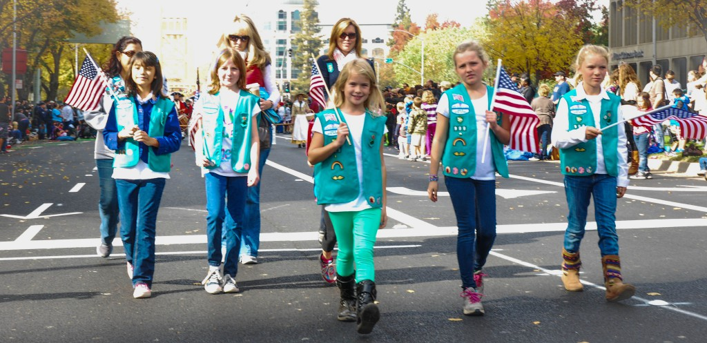 Girl Scout Troop No. 999.
