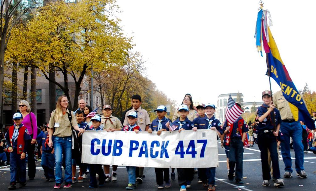 Cub Scout Pack No. 447.