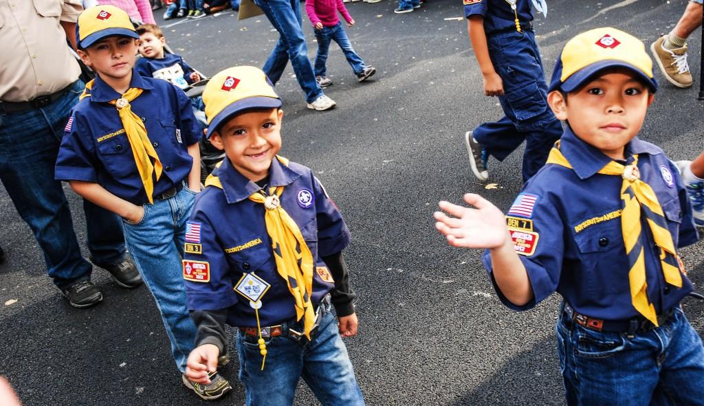 Cub Scout Pack No. 402.