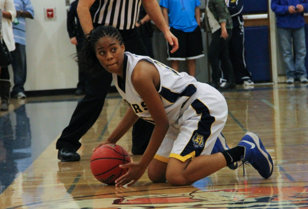 Kyliyah Daniel is talented both off and on the court. / Photo by Jeremiah McWright, NHS intern