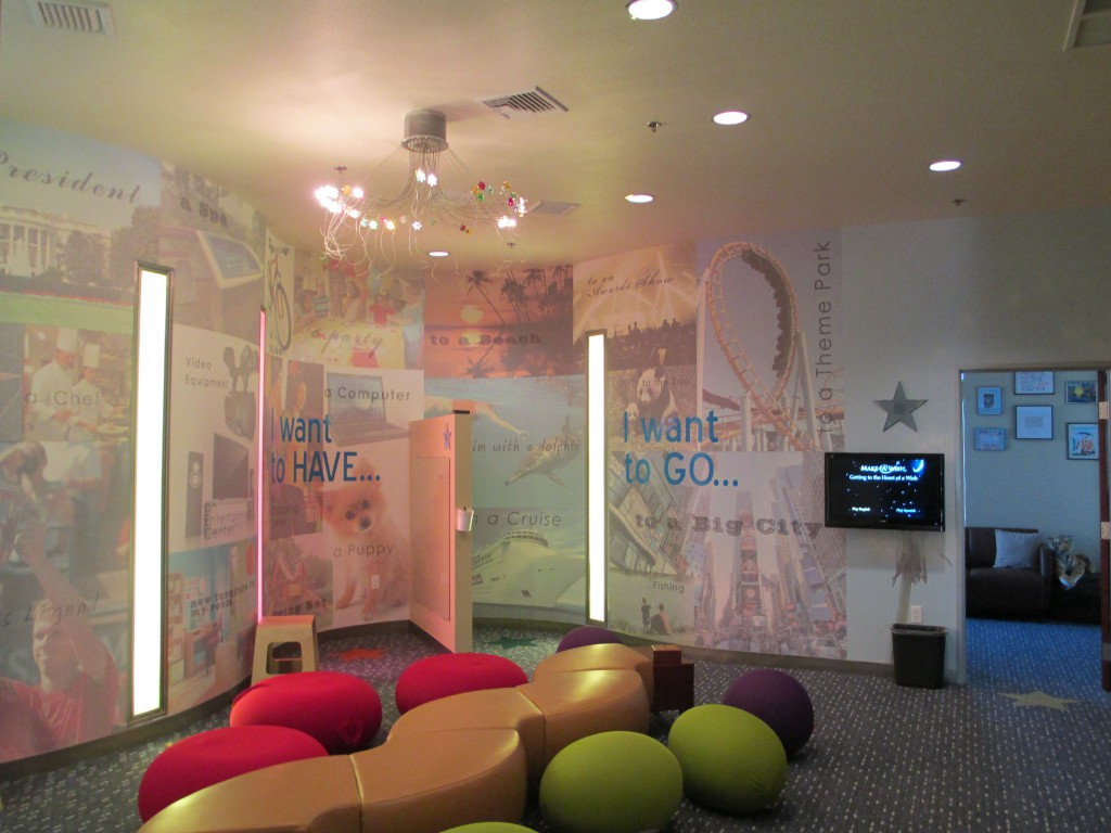 The wishing room at Make-A-Wish. / Photo by Kallie Provencher