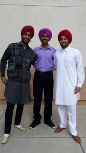 Jodh, Simran and Bikram, Indian