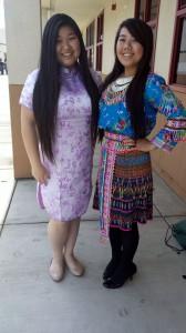 Queenie Lau, Chinese and Mai Moua, Hmong