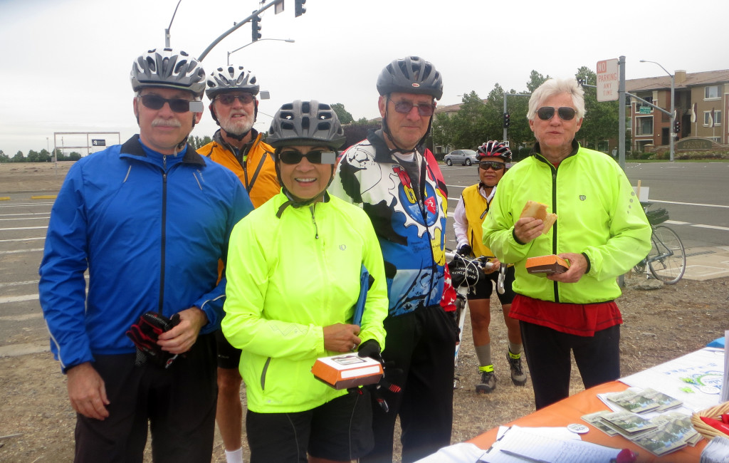 The Heritage Park cycling crew participate in a North Natomas TMA event.