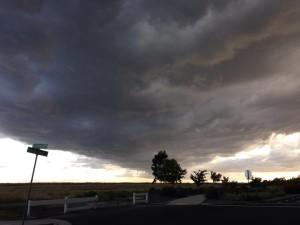 Seen in Natomas: Spring Storm Rolls In