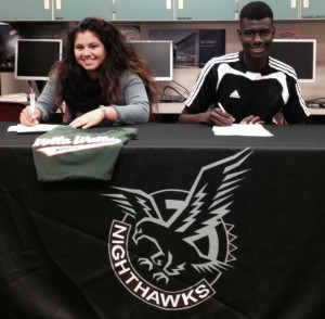 Natomas High Athletes Sign to Play College Sports
