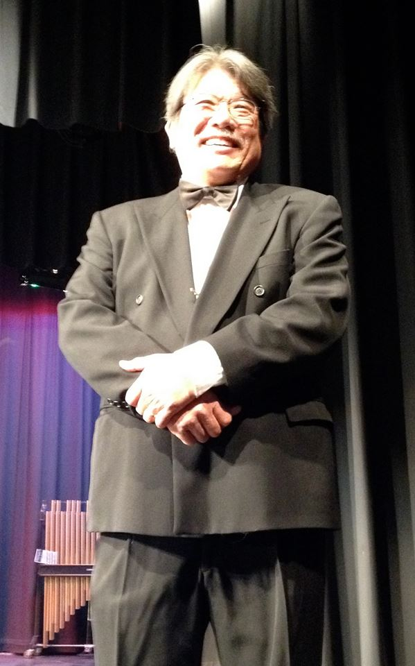 Mike Seto's retirement was announced during a recent concert at Natomas High. / Courtesy Photo