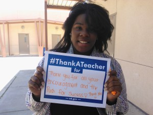 Seen in Natomas: National Teacher Appreciation Day