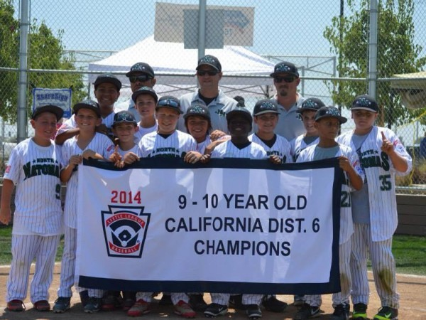 The North Natomas Little League 9-10 all star team advanced to the Section 2 tournament. / Photo: H. Carlton