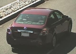 Image of vehicle caught by new camera. / Photo: SacPD