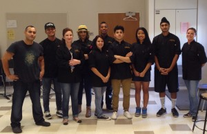 Culinary Club Makes Dinner for School Board